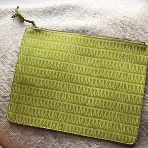 Leather/suede pouch - Urban Outfitters. For iPad?
